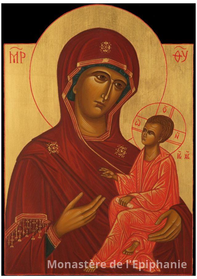 Vierge qui montre le chemin